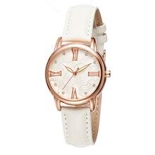 SB0011 Mulheres relógios High-end Relógio feminino relógios De Quartzo Relógio De Pulso De Luxo Strass Senhoras Relógio Relógio de pulseira de Couro de Alta Qualidade