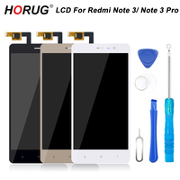 HORUG 100 AAAA Original LCD For Xiaomi Redmi Note 3 Pro Screen Replacement Display Touch Note
