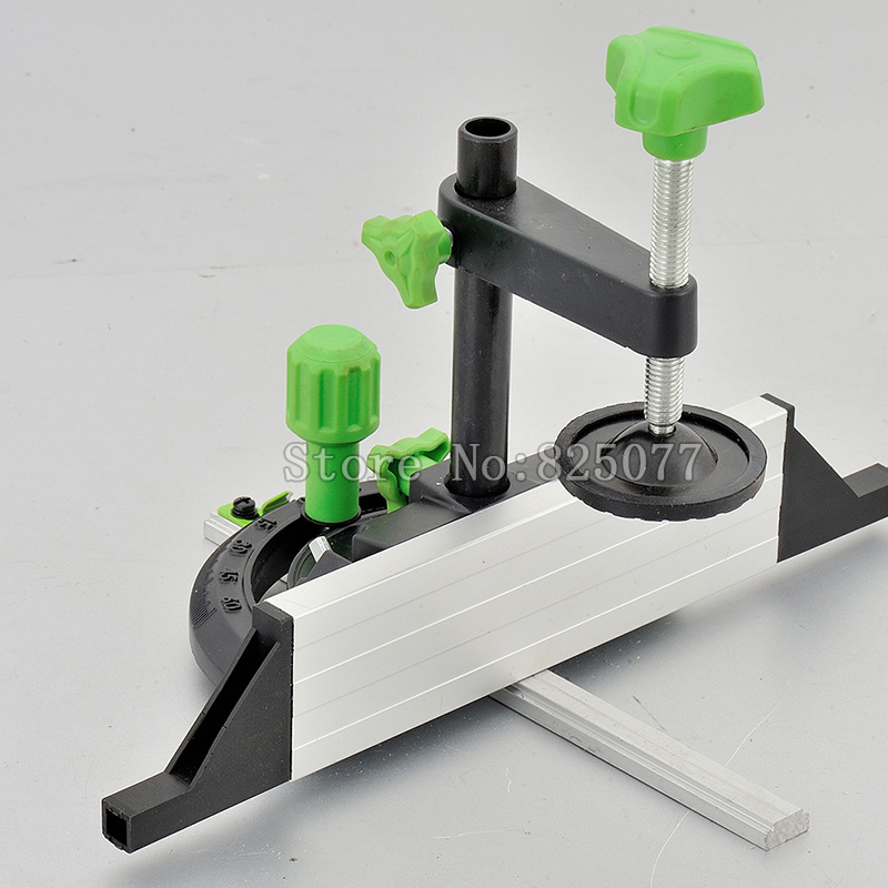 Woodworking DIY Tool Accessories Miter Gauge And Box Joint Jig Kit With Adjustable Flip Stop For Table Router Saw JF1157 in Tool Parts from Tools