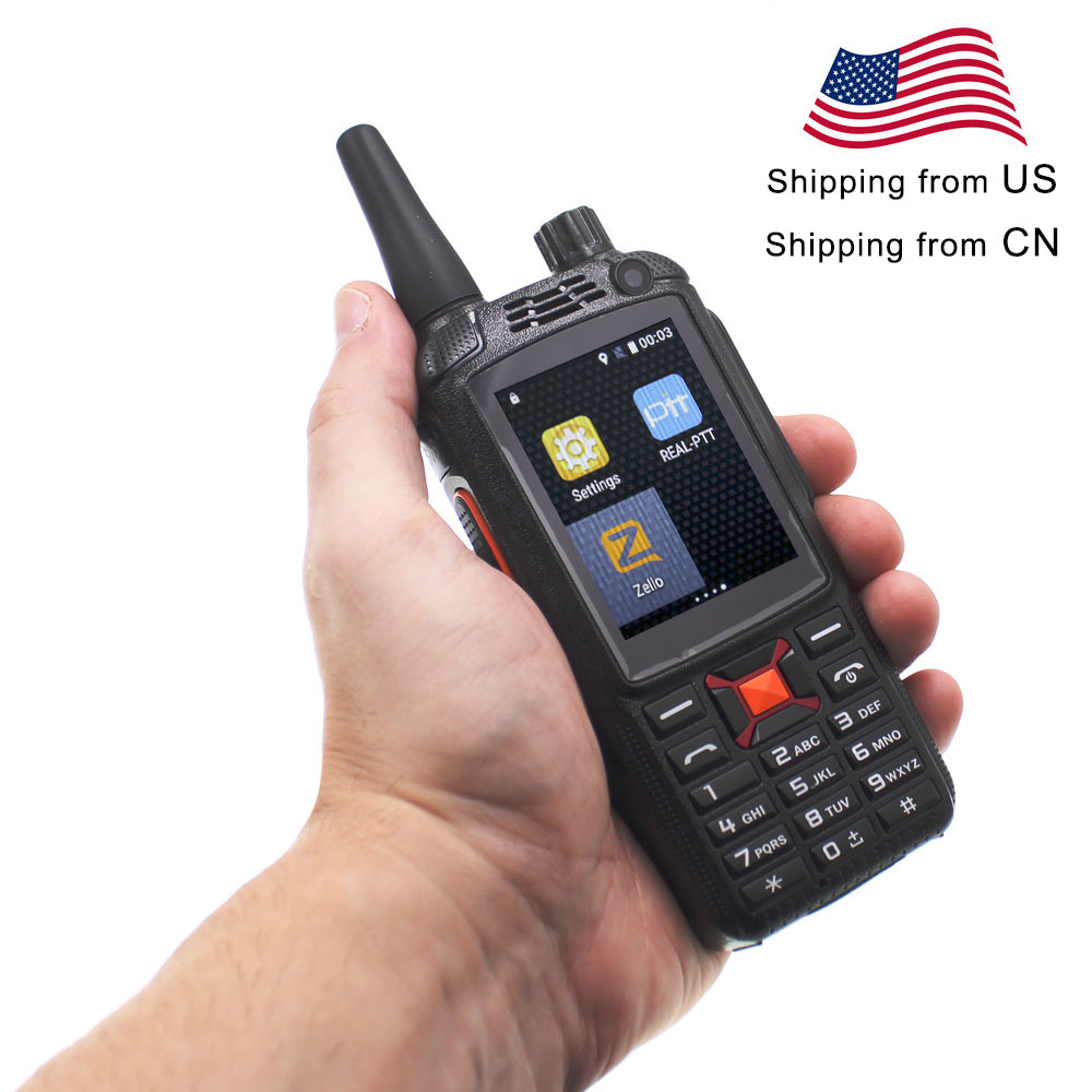 Anysecu WCDMA GSM 3G WIFI  Radio G22+ Android System FM Transcever 3G-22PLUS F22 Network Radio Work With Real-ptt/Zello