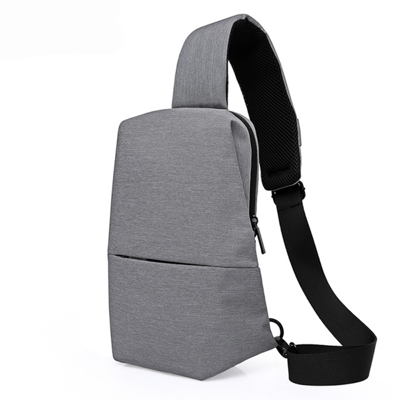 Casual Sling Bag Men Crossbody Chest Bag for Men Chest Pack Portable Travel Sling Shoulder Bag Messenger Bags Men Women Summer цена