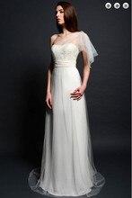 free shipping new fashion maxi dresses 2013 brides maid vestidos formal evening plus size white long beaded Graduation Dresses plus size beaded maxi long coat