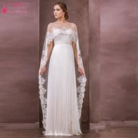 wedding bolero wedding jacket Lace wedding wraps wedding accessories Short Front Long Back Lace Boleros Simple for wedding Z239
