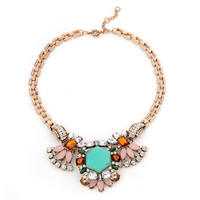 ORP Magazine Section Of Europe And The United States Fine Pure Handmade Alloy Necklace Exaggerated Retro