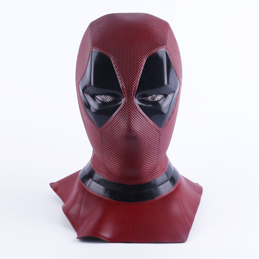 2018 Yeni Moive Deadpool 2 Maske Nefes Pvc Tam Yüz Maskesi Cadılar