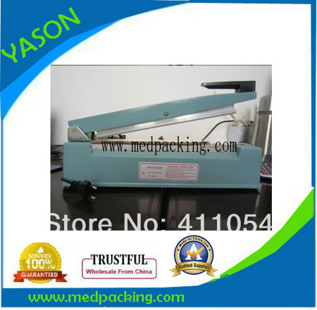 ФОТО Aluminium Bag Sealer machine with sealing length 300mm   0805027Y