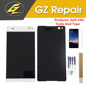 For Sony Xperia C5 Ultra C5 E5506 E5533 E5563 E5553 LCD Display With Touch Sensor Glass Digitizer Assembly With Kits