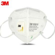 5Pcs/lot 3M 9501V Mask Anti Dust masks KN95 Masks Anti-haze Riding Protective Masks Anti-particles Filter Material