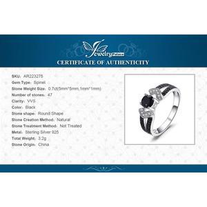 Image 5 - Jewelrypalace genuíno preto spinel anel 925 anéis de prata esterlina para as mulheres anel de noivado prata 925 pedras preciosas jóias finas