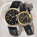 Relogio Feminino 2016 Fashion Lover Watches Leather Quartz-Watch Simply Dial fashion women men Couples Watches Relojes Hombre