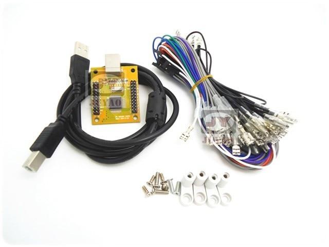 Cdragon Arcade to USB controller 2 player MAME Multicade Keyboard Encoder, USB to Jamma, game controller