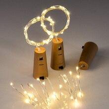Dekorační osvětlení se zátkou – 20 LED 2 m