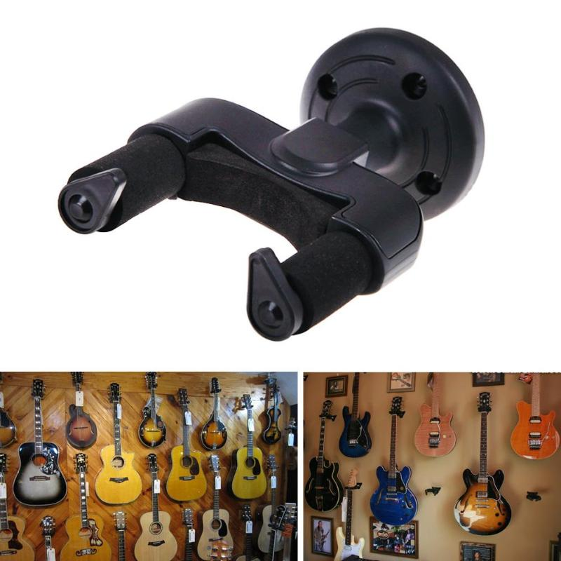 Electric Guitar Wall Hanger Holder Stand Rack Hook Mount For All Size Guitars Universal String Instruments Wall Hange Save Space