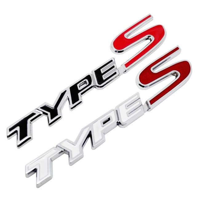 Metal TYPES TYPE S Car Styling Refitting Trunk Logo Emblem Sticker - Acura type s emblem