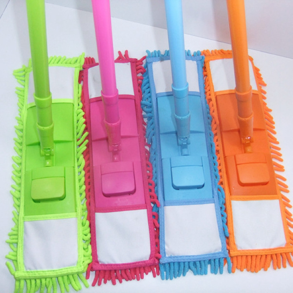 Split Spray Floor Mop: 1Pc 4 Colors Telescopic Rotate Removable Dust Mop Home