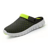 Summer New Slip-on flats Breathable Mesh Leisure Fashion Slippers Couples Casual Sandals, Unisex Sandals