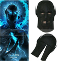 NEW The Flash Zoom Cosplay Full Face Rubber Mask Fancy Ball Hood