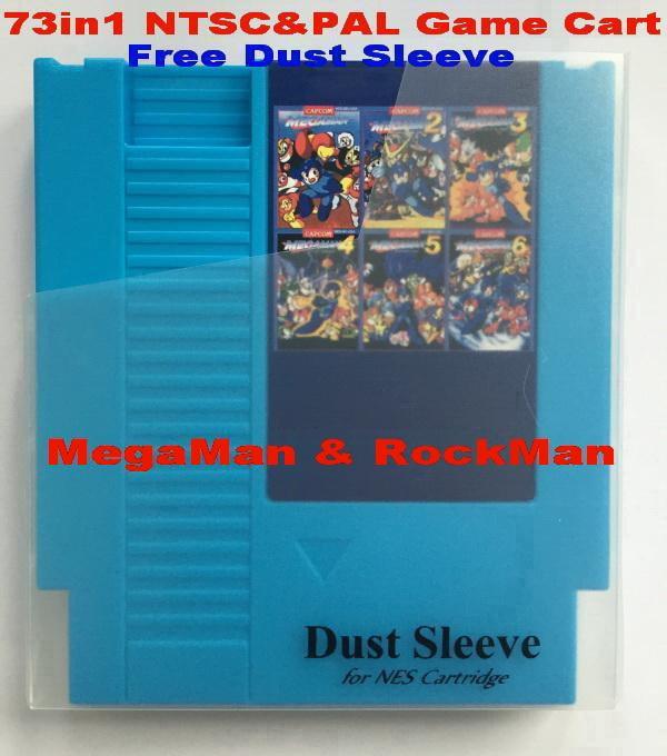 Megaman Remix 73 в 1 патрон игры для NES консоли