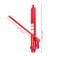 (Shipping From DE) 8 Ton Long Ram Hydraulic Jack Manual Arm Replacement Engine Lift Hoist Tool