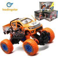 LeadingStar Alaşım 4-wheel Bahar Grafiti ile Off-road Araç Geri Çekin Araba Oyuncaklar Çocuklar için Hediye olarak (Rastgele renk)