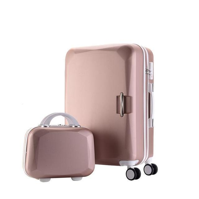Travel Rolling Luggage and Bags 2 pcs/Set
