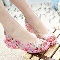 Mulheres Sandálias Sapatos de Verão Impressa Sandálias Da Geléia Planas Senhoras Geléia Sapatos Peep Toe Sapatos de Praia Casuais Sandalias Mujer