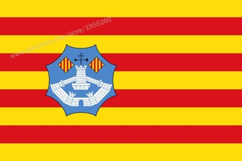 Flag of Menorca Balearic Islands 3 x 5 FT 90 x 150 cm Spain Flags Banners image