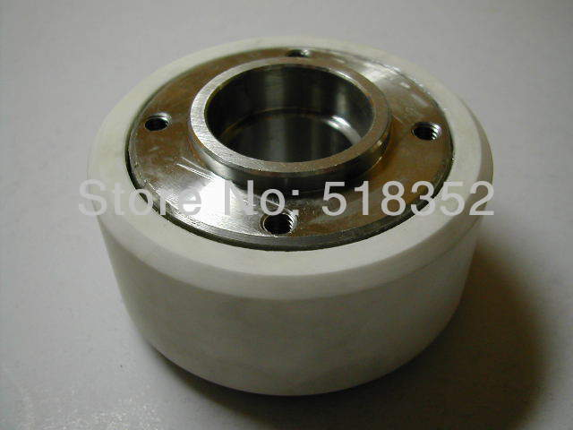Chmer CH405C White Ceramic Pinch Roller OD57mmx ID19mmx T32mm for WEDM-LS Wire Cutting Wear Parts chmer ch602 lower roller takeup pulley ceramic for wedm ls wire cutting machine parts