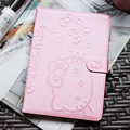 Cute Hello Kitty Stand Magnetic Smart Tablet Case Cover For Apple iPad air 2 iPad 6 Case Cover Girl Kids Gift Screen Protector