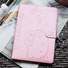 Lindo soporte tablet case cubierta elegante magnética para apple ipad aire 2 ipad 6 pantalla case cover girl regalo de los cabritos Protector