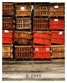 5x7FT Recipiente Caixas de Paletes De Madeira Bandeja de Piso de Madeira Sob Encomenda Da Foto Estúdio Pano de Fundo Fundo Da Bandeira do Vinil 220 cm x 150 cm