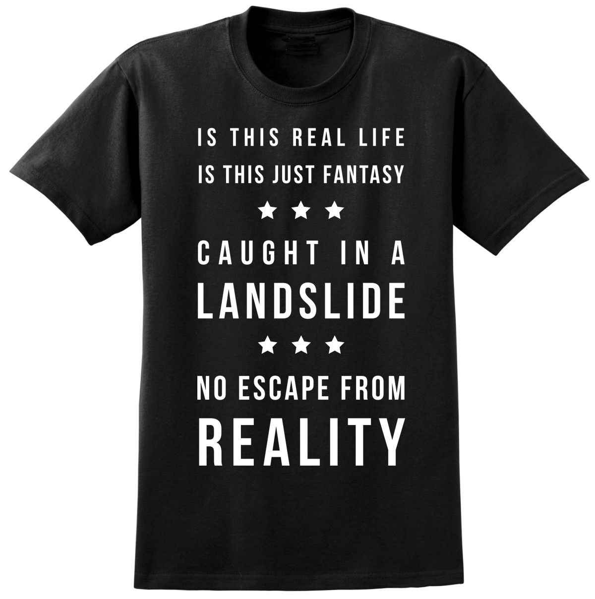 1ded1832 ... Queen Bohemian Rhapsody Music Lyrics T-shirt - Freddie Mercury Inspired  Tee Mens Shirts Short