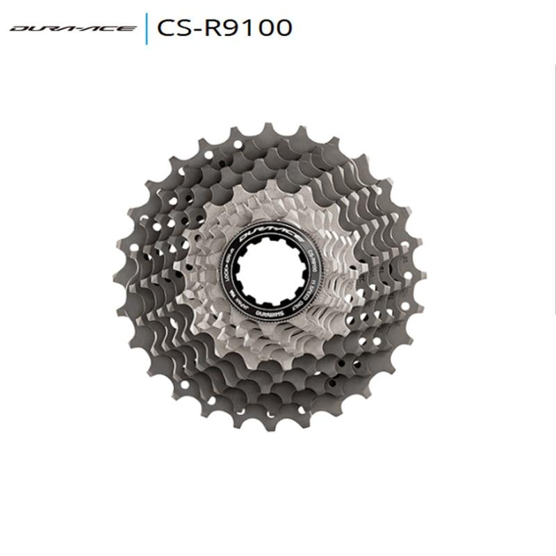 цена на SHIMANO DURA-ACE DA CS-R9100 DA9000 Road Bike Flywheel 11 Speed Cassette Freewheel