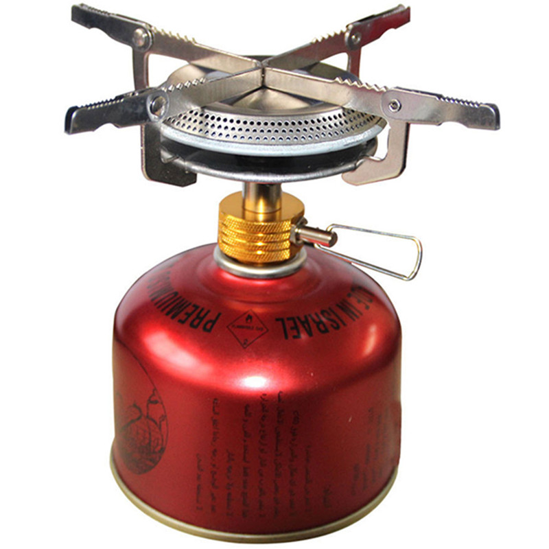 ultralight outdoor backpacking camping gas stove portable pinic cooker gas stove in outdoor. Black Bedroom Furniture Sets. Home Design Ideas