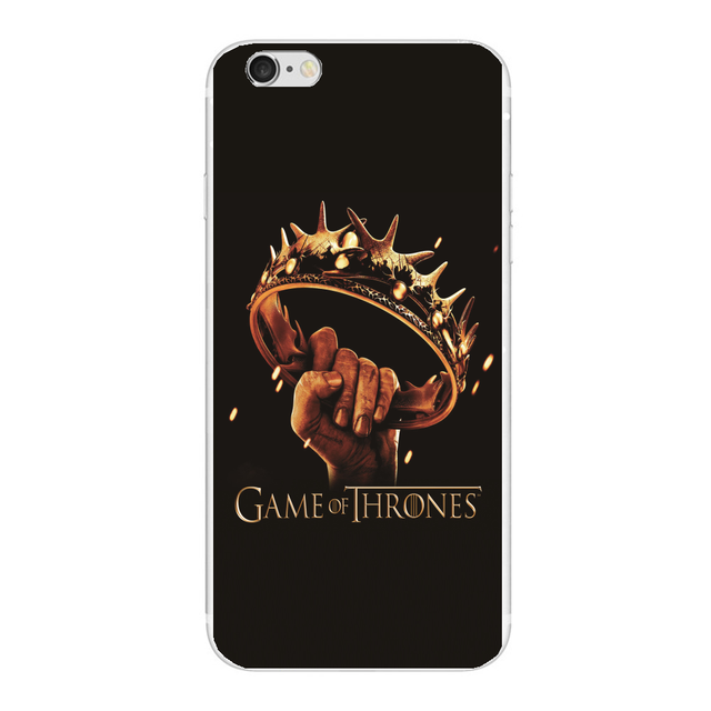 Game Of Thrones Season Design For iphone 6 6S 7 Plus 4 4S 5 5S SE Hard plastic case For Samsung Galaxy S4 S3 S5 S6 S7 edge