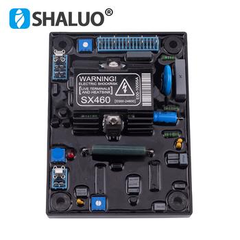 Nowy Generator SX460 automatyczny Regulator napięcia AVR diesel alternator część stabilizator mocy niższe tanie wysokiej jakości tanie i dobre opinie SHALUO SX460 AVR brushless generator