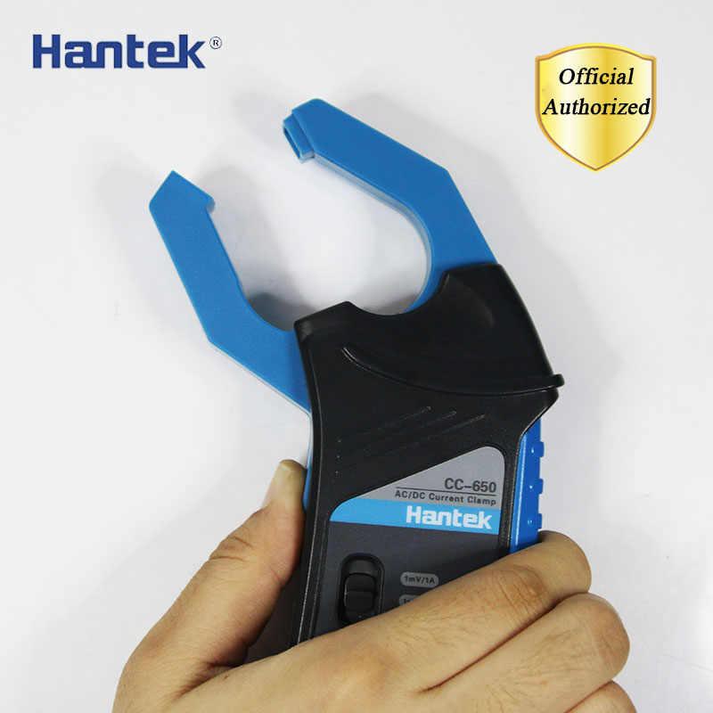 Hantek CC-650 CC650 AC/DC 電流クランプメータ bnc コネクタトランスデューサハンドヘルドオシロスコープマルチメータ