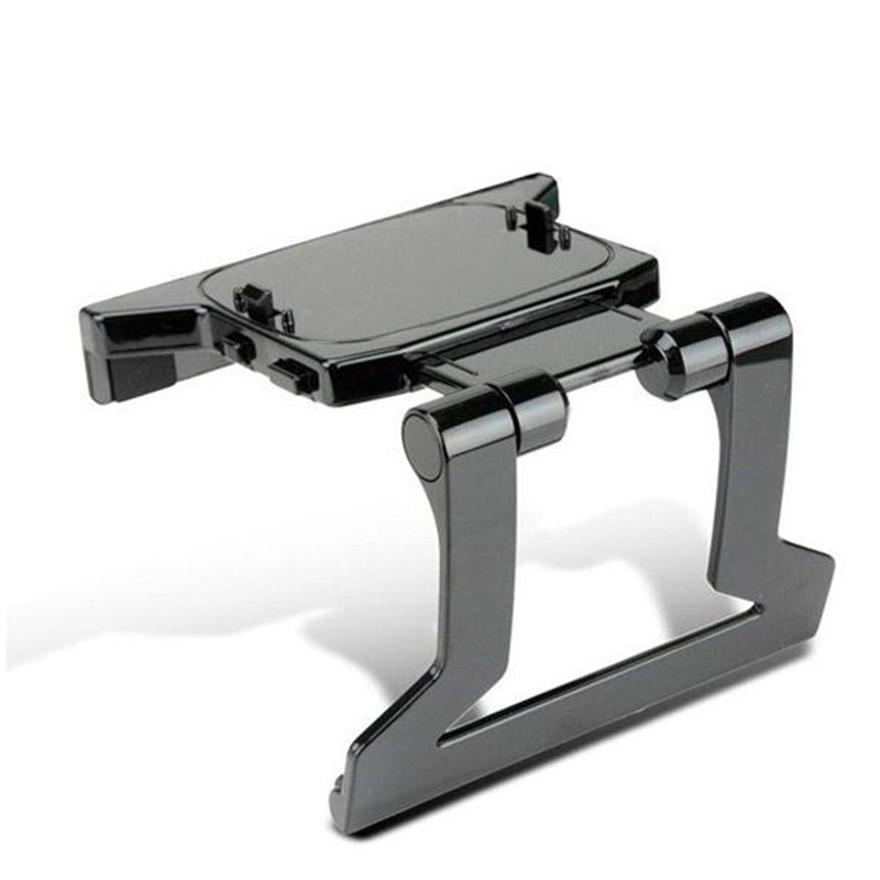 New 1pc TV Clip Clamp Adjustable Mount Plastic Stand Holder for Microsoft Xbox 360 Xbox360 Kinect Sensor