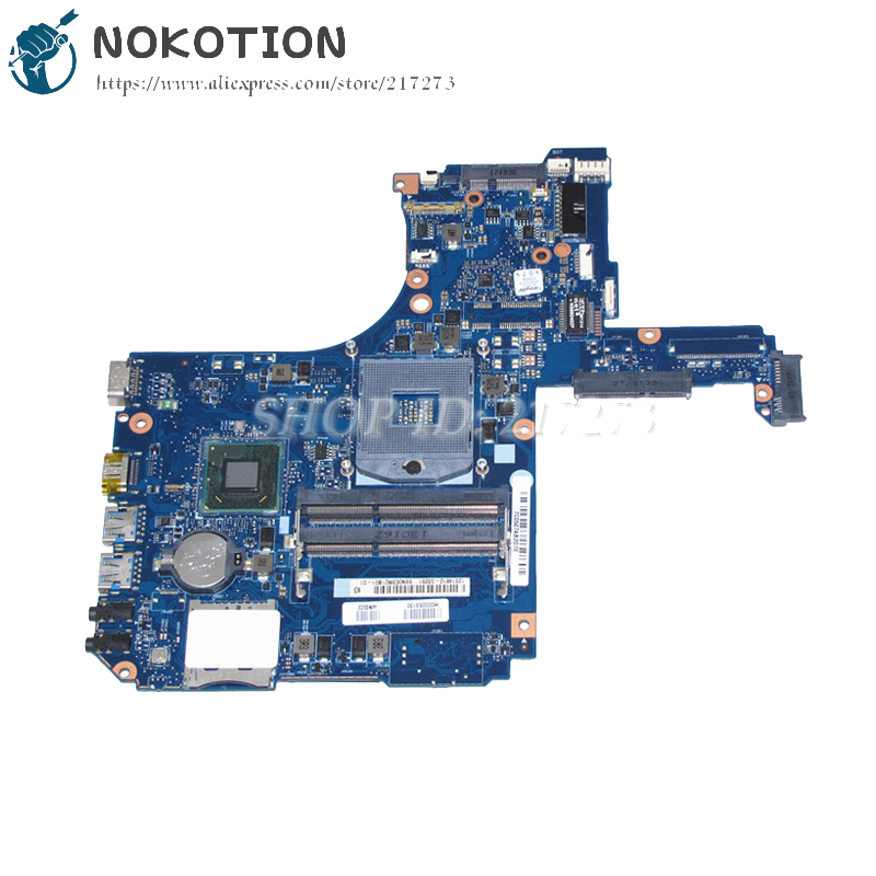 NOKOTION H000053130 MAIN BOARD For Toshiba Satellite S50 S55 S50-A S55-A Laptop Motherboard SLJ8E UMA HD4000 DDR3 nokotion genuine h000064160 main board for toshiba satellite nb15 nb15t laptop motherboard n2810 cpu ddr3