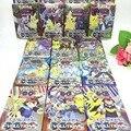 Novo 17 Pçs/lote Cartões De Pokemon Conjunto Caixa de Massa Jogar Jogos Cartões de Brinquedo XY Mega Exs Pokeball Cartões Crianças Encantos Presentes