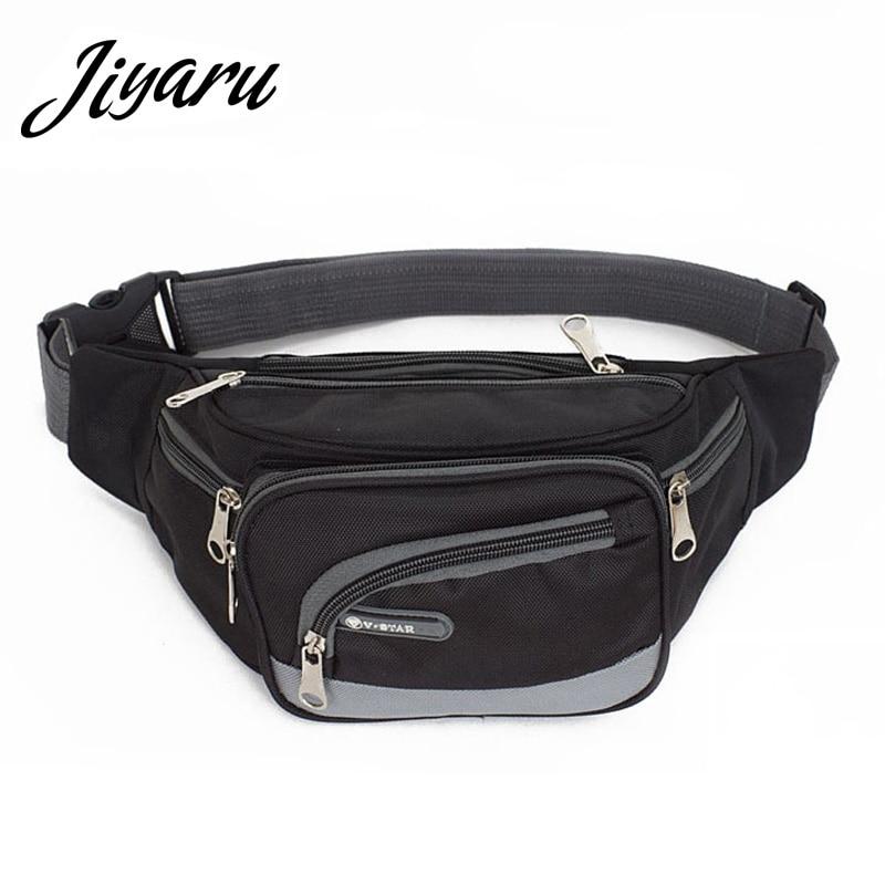 Hot Sale Waist Bag Women Fanny Pack Female Belt Bag Black Geometric Waist Packs Chest Phone Pouch Belly Bags Purse