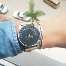 2017 New Product Women's Watch Fashion Faux Leather Analog Quartz WristWatch Big Dial Ladies Watch Clock Female Relogio Feminino