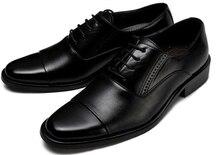 Марка мужская обувь PU делового дресс обувь мужчины квартиры мода мужчина оксфорд обувь 2016