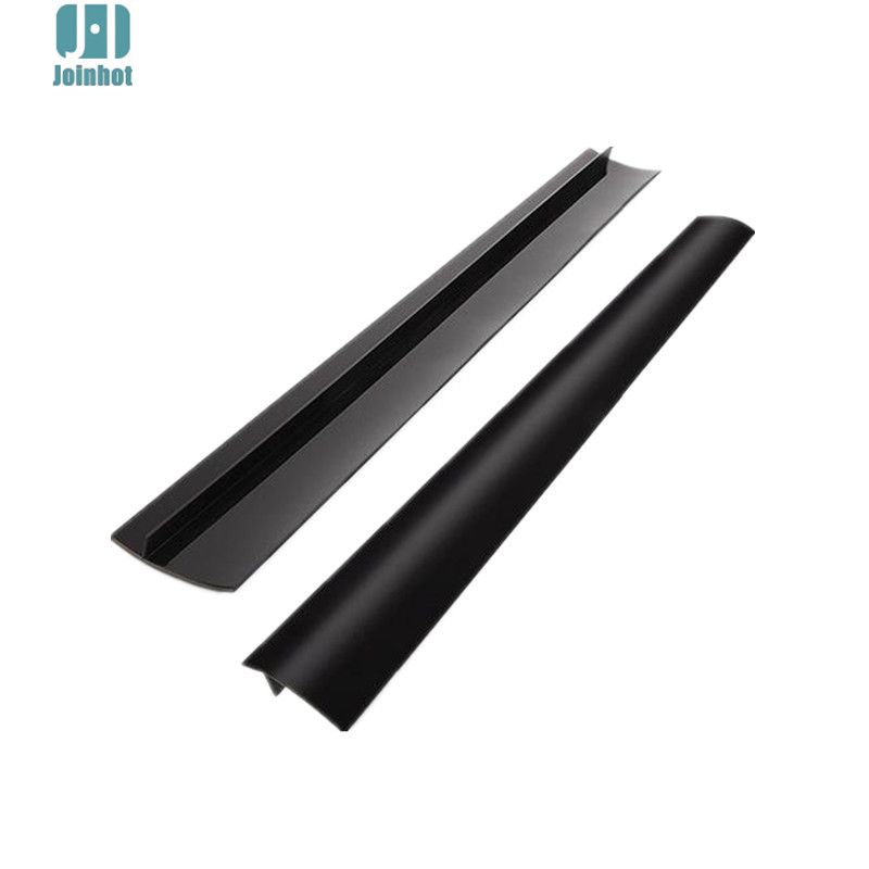 2 pcs lot silicone stove counter gap cover flexible silicone gap covers seal the gap in mats. Black Bedroom Furniture Sets. Home Design Ideas