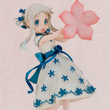 Haocaitoy Figure Toys Honma Meiko Anime Action Figures Movie Dolls PVC Model Toys For Collecting Gift 17.5cm haocaitoy figure toys 4 leaves tony anime action figures daisy dolls 1 6 scale pvc model toys swimwear for collecting gift 14cm