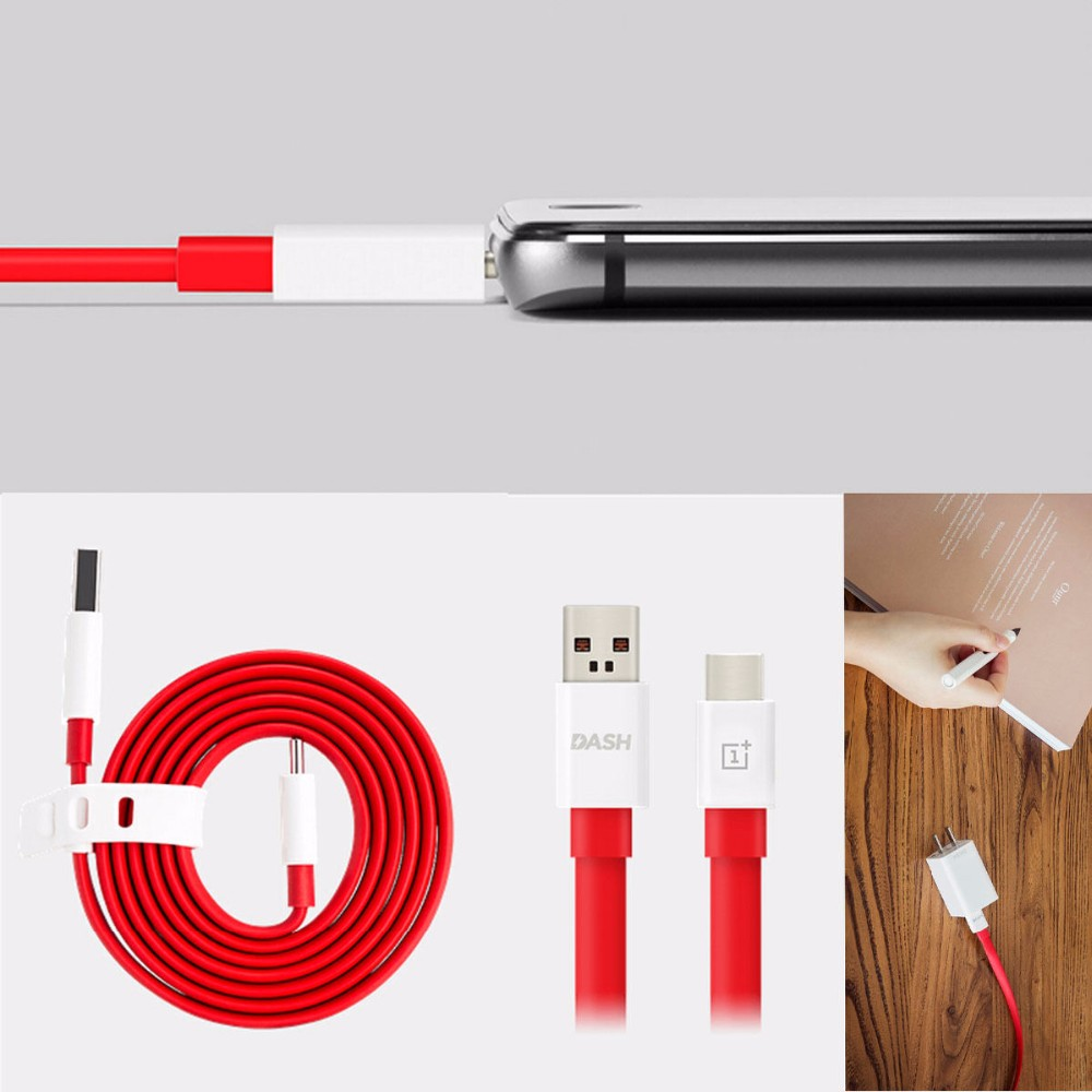 100cm = 1m Original Oneplus Dash Quick Charge 100cm 1m Type C Type C Usb 3 1 Fast Charger Data Sync Flat Cable Cord Lead For One Plus 3 3t In Mobile Phone Cables