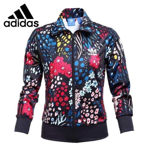 b9e811052 Original New Arrival Adidas Originals Women's Printed Jacket Sportswear