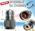 SO239 UHF Female To N Male Socket Adaptor UHF-F to N-M for Yaesu FT-7800 FT-7900R