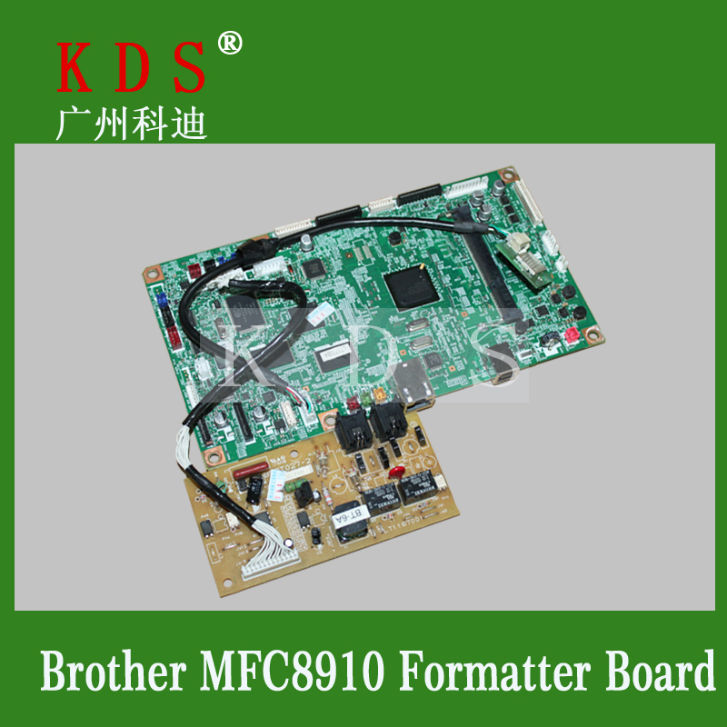 Laserjet Printer Formatter Board For Brother MFC-8910 Motherboard Used Pre-tested Logic Board brand new printer spare parts logic board laserjet for hp175nw 175n 175a formatter board main board