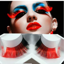 Artistic Colored False Drag Queen Eyelashes